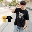 ‧【柒零年代】 ‧短T,T恤,短袖,彩色反光,台灣製 ‧黑色、黃色【共二色】