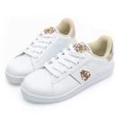 採用專利抗菌防臭乳膠鞋墊 增加吸汗與透氣性 經典迪士尼角色電繡與配色 一體成型工法,不易開口笑