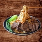 滷湯汁牛肉拌麵(2份入),麵Q彈,肉大塊帶勁 美味滿百