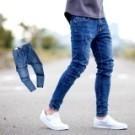 ‧【柒零年代】 ‧牛仔褲,長褲,窄版褲,素面牛仔褲 ‧如圖【共一色】