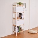 想打造一個好看的收納牆? 帶點鄉村風格為空間增添溫度, 尺寸3~5層,當書架、花架、收納架美觀又實用