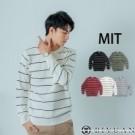 條紋高質感毛衣  MIT台灣製