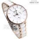 原廠公司貨 保固一年 三眼多功能錶 簡約俐落的都會美感 抗磨損陶瓷錶帶 藍寶石水晶鏡面 日常生活防水