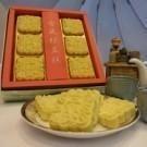 只採用上等低糖綠豆皇製成的綠豆糕~保有了綠豆最原始的香氣~清香順口微甜不膩~低糖低熱量~6入/盒純素