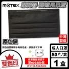 雙鋼印 摩戴舒 MOTEX 醫用平面口罩