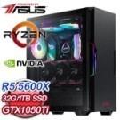 AMD R5 5600X六核 華碩 B550 32G/1T SSD