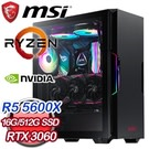 R5 5600X六核 微星 B550M 16G/512G SSD