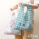 比傳統購物袋更小的33x47cm尺寸 採用RPET再生環保面料 重量僅25g 防潑水易清潔 耳掛設計