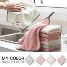 柔軟細膩,吸水性強,配有掛繩,可掛在廚房或浴室裡。