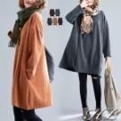 冬季的必入手針織 簡約素色的立體織紋 領擺拼色視覺加分