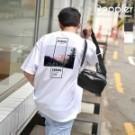 doppler 現貨+預購 短t 正韓 男女可穿 印花t 寬鬆落肩 韓國直送 韓系 街頭