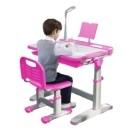 桌椅可輕鬆調節高度 桌面可多角度傾斜 閱讀架 看書不傷眼 大容量隱抽屜方便收納