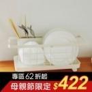 ★簡單安裝不傷櫃面 ★不佔空間美觀實用 ★表面噴漆處理防水耐汙 ★小空間也能系統化整理
