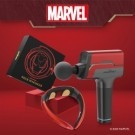 Marvel漫威官方授權 贈!台灣獨家鋁合金彈型按摩頭 最長可使用7-15小時 贈送收納攜帶盒