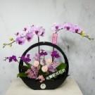 蘭花乾燥花盆花-21乾燥花維持綻放姿態長達三年以上不需水分