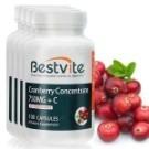 100%美國原裝進口 20倍濃縮蔓越莓 特別添加維生素C