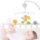 KONIG KIDS嬰兒床音樂鈴搖鈴音樂旋轉床鈴寶寶安撫布玩具