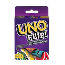 ◎ 全新卡牌遊戲 UNO Flip,一副卡牌兩面皆可玩 ◎ 卡牌翻面再翻面,趣味更加分