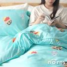 天絲™萊賽爾纖維打造,舒適的寢具系列 充滿童趣氛圍的小新、小白塗鴉主題,可愛模樣伴您每晚酣睡