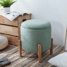 ‧可疊加收納,巧省空間 ‧使用高穩定性櫸木椅腳 ‧座包採用舒適透氣棉麻面