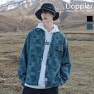doppler 現貨+預購  襯衫 牛仔襯衫 拼接襯衫 韓系 男生襯衫 男襯衫 寬鬆 復古襯衫