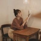韓國選品系列 簡單好搭配的日常款式 細條紋的布料柔軟舒服 搭配牛仔褲小白鞋 簡單日常的休閒服