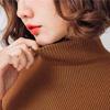 秋 1110【11532】冬季大地色系高領針織衫,輕鬆穿出時尚氛圍