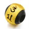 六字真言「唵嘛呢叭咪吽」隨身祝福材質:純金黃金總重量:約0.058兩隨商品附贈祝福紅繩一條
