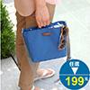 正面無口袋 五內袋 背面一口袋 包內多個夾層設計 分類收納佳 背帶長度可調整 攜帶方便