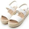 草編鞋底多了分輕鬆無造作的渡假氣息隨性自在的風格能讓好感度大提升