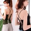 0620 美背交叉綁帶設計,彈力針織面料,舒適好穿。