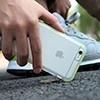 ROCK優盾 蘋果iPhone7 手機全包軟TPU套iPhone透明保護殼粉框新款防摔