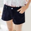 低調色系的純色短褲休閒百搭,選用織紋緊密的斜紋面料更加耐穿