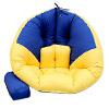 ●台灣製造●繽紛色系可供挑選●採用記憶絞碎棉舒適度佳 ●拉鍊設計椅子或坐墊,輕鬆變