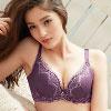 ◆AB罩為下厚上薄;CD罩為均薄◆副乳側包片可達到側包不外擴◆全蕾絲U型美背,連後背都很吸睛