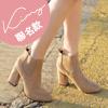 Kimy聯名款-高跟卻爾西短靴
