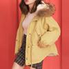 冬 1130【13867】怕冷女孩必敗溫暖鋪毛外套  可拆式連帽炸毛  親膚柔軟又可愛