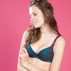 ◆High Q棉材質罩杯, 彈性與手感佳。◆U型美背+固定式肩帶,加強穩定及拉提力道。