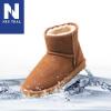 真皮防潑水雪靴