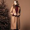 ◆溫柔唯美大衣選色,長版造型,挑選高質感大衣厚面料,開襟設計,版型修身顯瘦。