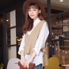 ◆ 當外搭不僅保暖還襯托搭配的完整性,左右側邊綁帶設計,寬鬆感可以修飾身材。