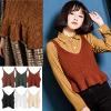 針織小背心完全就是百搭商品搭配洋裝襯衫都適合六色顏色任妳挑選!超復古