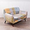 ‧ 木質椅腳呈現高質感氛圍 ‧ 拚色色塊設計,更具獨特性 ‧ 書房客廳臥室擺放皆適合