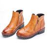 個性實搭短筒靴厚底設計 輕鬆修飾擁有迷人纖細雙腿創造率性經典時尚風格化身甜美帥氣時尚甜心