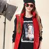 ■Betty Boop百貨專櫃■絨面大圖俏麗優雅■磨毛上衣親膚保暖 ■BW15279