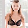 ◆透色幾何線條設計,展現流行時尚◆罩杯內採用奈米涼爽紗材質,透氣、涼感◆獨家專利-軟棉圈