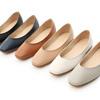 優雅的方頭鞋楦是今季時尚主流小V口的設計有修飾腳形的視覺效果楦頭偏窄,腳板偏寬的甜心建議拿大一號