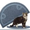 防止貓砂被貓咪腳掌弄的到處都是,或避免寵物吃飯四處掉渣,實用又可愛的半圓型小腳墊是家家必備的好物!