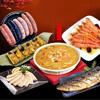 年節應景魚翅羹還有海味香腸醇香紹興醉草蝦,內餡豐富福洲米糕海味十足白腹鯖魚,明星開胃菜貴妃鮑味片