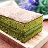 日本進口抹茶香氣製作而成濕潤蛋糕,夾上一層濃濃北海道生乳宛如置身日本京都的氛圍